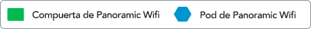 Leyenda del plano de Panoramic Wifi Pod 2.0