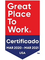 Logo de Great Place to Work Certified