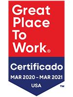 Logo de Great Place to Work Certified